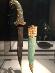 Dagger and Scabbard from the 18th century - India