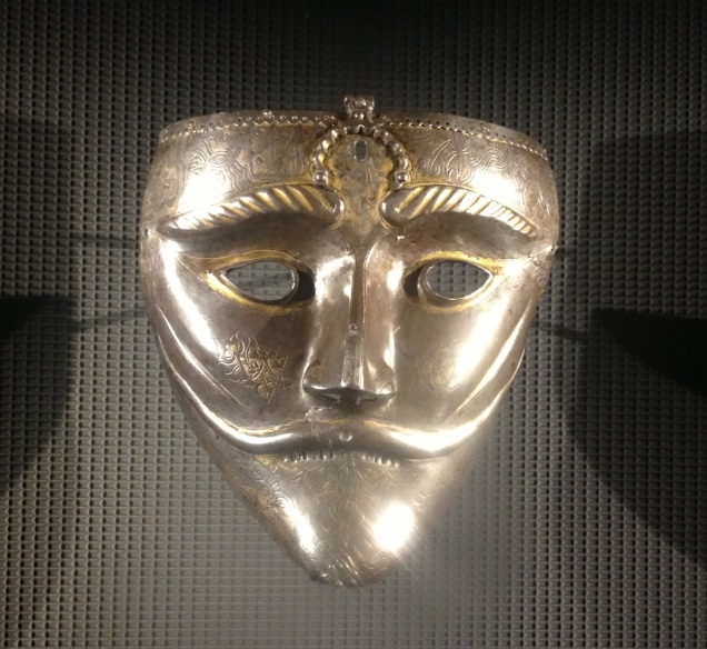 War Mask from the 15th century - Iran